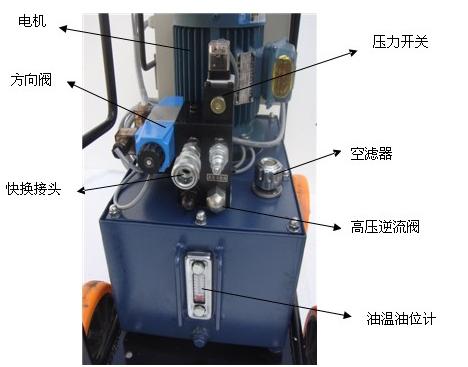 济南华工升降机专业生产全自行液压升降机图片