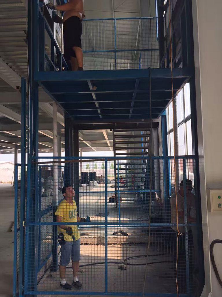 液压升降货梯安全操作规程